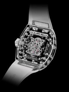 Richard Mille RM 56-02 Tourbillon Sapphire case-back