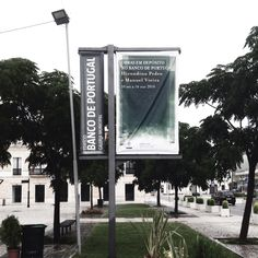 Lona para exposição no Banco de Portugal, Leiria by Fausto Vicente