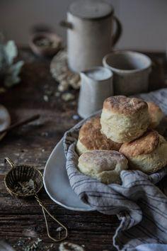 Calientes los muffins al desayuno.