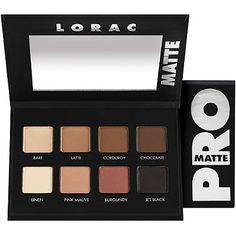Lorac PRO Matte Palette - #greeneyes