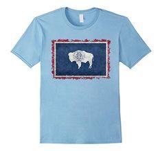 Men's Wyoming State Flag T-Shirt Vintage Retro Style 2XL ... https://www.amazon.com/dp/B06Y42WHF1/ref=cm_sw_r_pi_dp_x_94N6ybRGA516N #Wyoming #Wyomingtee #Wyomingflag