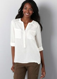 I love plain mens looking shirts! Mainly ill just buy an actual mens shirt though... whoops!