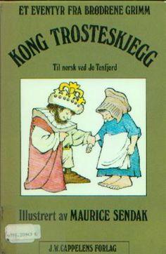 """Kong Trosteskjegg"" av Jacob Grimm - 'A book that makes you nostalgic' Antique Books, Vintage Books, Beard King, King Picture, Maurice Sendak, Brothers Grimm, Early Readers, Reading Challenge, Childhood Memories"
