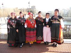 Traditional costume in Leon, Spain
