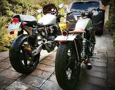 Honda&yamaha.   Caferacer&bobber