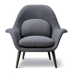Space Copenhagen designed Swoon to fill the gap between a conventional lounge chair and a typical armchair - for use in lounge areas as well as private homes. T