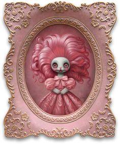 Pinkie — Mark Ryden Oregon, Arte Lowbrow, Color Sprinkle, Spiritual Animal, Mark Ryden, Found Object Art, Robot Art, Pop Surrealism, Retro Futurism