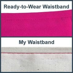 How to Sew a Waistband that Will Never Roll or Wrinkle - Sewing, Alterations for Plus Size Women