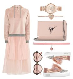 """""""Elegant Sport"""" by unicornul ❤ liked on Polyvore featuring Mother of Pearl, Topshop, Miu Miu, Cutler and Gross, Joomi Lim, Giuseppe Zanotti and Michael Kors"""