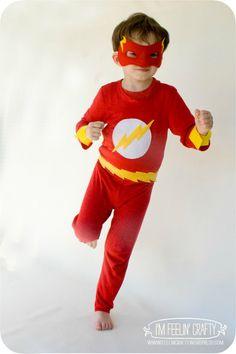 DIY Flash Costume by I'm Feelin' Crafty                                                                                                                                                      More