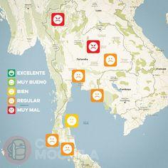 El tiempo en Tailandia en AGOSTO