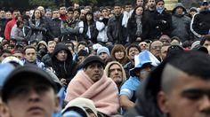 Sufrimiento y frio en Buenos Aires............... Argentina 1 Suiza 0 .......... Gol de Di Maria..... en tiempo suplementario..... 1 julio de 2014.. octavos de final.. Estadio Arena Corinthias ... San Pablo.. Brasil.
