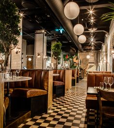 Amerigo (Oslo, Norway), Europe Restaurant | Restaurant & Bar Design Awards