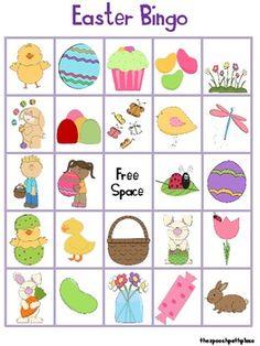 Vocabulary Easter/Spring Bingo