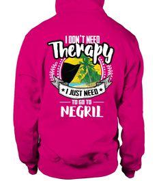 T shirt  USA I don't need therapie Negril  fashion trend 2018 #tshirtdesign, #tshirtformen, #tshirtforwoment