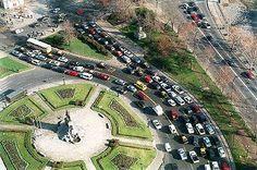Plaza Italia; Santiago, Chile