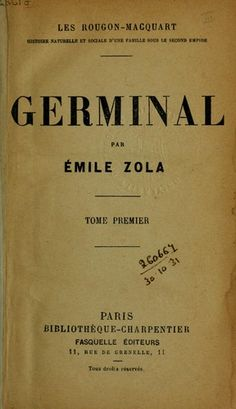 Read the opening paragraphs of Émile Zola's 1885 masterpiece, Germinal. https://www.lawlessfrench.com/reading/germinal/
