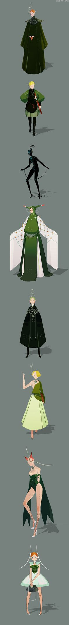 shanli by yao yao, via Behance