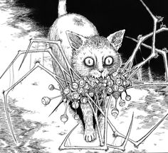 """New Voices In The Dark"" by Junji Ito #horror #creepy #manga"