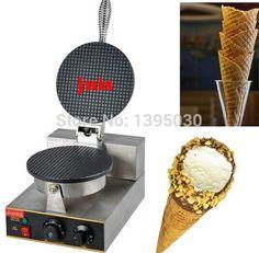 129.48$  Buy now - http://aliz99.worldwells.pw/go.php?t=32599522166 - Electric Ice Cream Waffler Cone Bake Maker 220V pancake maker
