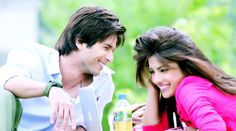 Shahid Kapoor and Priyanka Chopra in Teri Meri Kahani <3