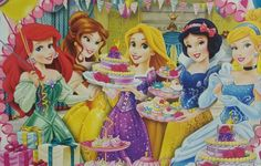 Put on your Sparkliest Dress and Join us Sisters for a Tea Party  !!!! (104 pieces)