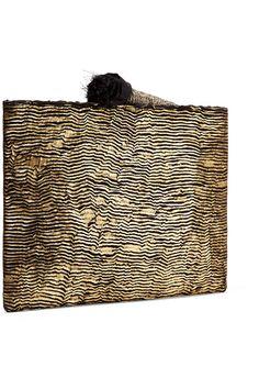 Sanayi 313 | Ragno embroidered metallic woven pouch | NET-A-PORTER.COM