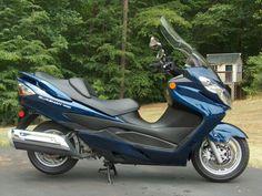 My 2009 Suzuki Burgman 400
