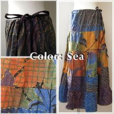 """natural mix """"color type is SEA"""" #fashion #party #hippie #wear #naturaleeza"""