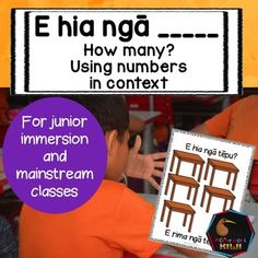Maori counting work that helps students put Maori numbers into context.Help your students put numbers 1-10 into context with these activities. If your children know how to count to ten then they can do this work. This is a great next step after your students know their numbers in Maori.