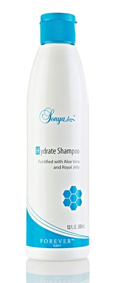 with Sonya Hydrate #Shampoo. The perfect start to your haircare routine. #ForeverLiving http://link.flp.social/P33l0H