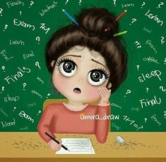 Image in Study I 🤓 collection by Helena on We Heart It Girly M, Girly Drawings, Cartoon Drawings, Drawing Sketches, Girly Pictures, Pictures To Draw, Cartoon Pics, Cute Cartoon, Cartoon Art