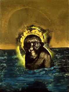 sacred monkey - marshall arisman