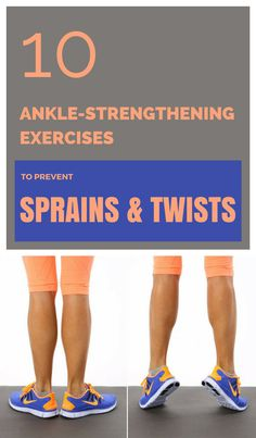 10 ankle-strengthening exercises to prevent sprains & twists - ZoomZee Ankle Rehab Exercises, Ankle Strengthening Exercises, Foot Exercises, Balance Exercises, Sprained Ankle Exercises, Ankle Stretches, Ankle Mobility Exercises, Flexibility Workout, Strength Workout