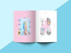 Magazine design: OPAQUE on Behance