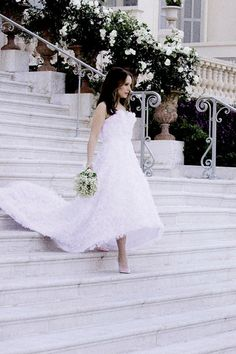 Natalie Portman is a Dior bride - read the full story