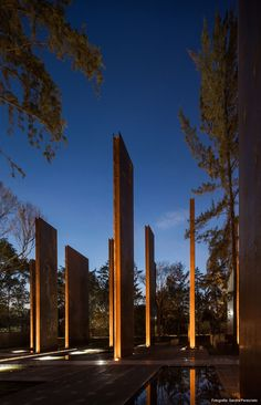 Memorial To Victims Of Violence,Courtesy of Gaeta-Springall Arquitectos