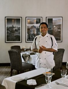Indian Accent Executive Chef Manish Mehrotra is one of the most celebrated chefs in the country!