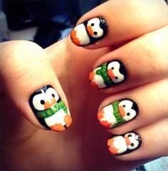 winter nail art! more: http://buzznet.com/~g93d301