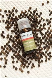 Black Pepper Organic Essential Oil, quality oil from Tisserand, perfect for Aromatherapy
