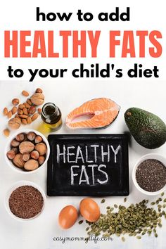How To Add Healthy Fats To Your Child's Diet.Find out how to add healthy fats in every meal for your child. Simple and easy feeding strategies that you can implement in your home. Can be used in baby led weaning and for picky toddler meals Healthy Fats, Healthy Snacks, Healthy Recipes, Picky Toddler Meals, Kids Diet, Baby Led Weaning, Meal Planning, Lunch, Dinner