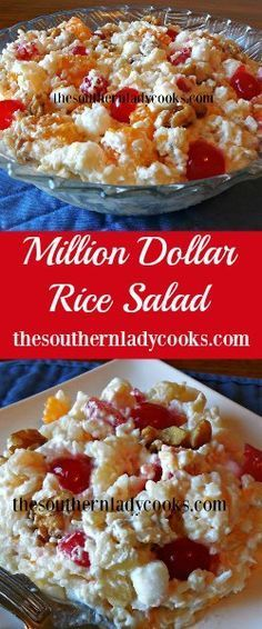 The Southern Lady Cooks Million Dollar Salad                                                                                                                                                                                 More