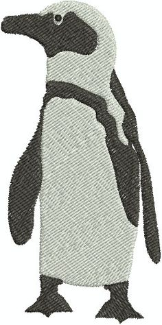 Penguin  Digital embroidery design by EmbroideryDesignsBRN on Etsy