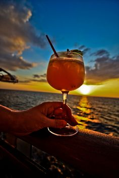Every hour on a Fun Ship is Happy Hour.   Oh yum!  The ooo-LA-la.  My best friend won the mixologist contest on our cruise aboard Elation to Cozumel!   Good Time