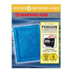 Marineland Rite-Size Cartridge B, 6-Pack  Order at http://www.amazon.com/Marineland-Rite-Size-Cartridge-B-6-Pack/dp/B001LISOLM/ref=zg_bs_2975446011_19?tag=bestmacros-20
