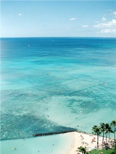 Seeking: The best Sunscreen - Hither and Thither / Photo of Waikiki by Ashley Goodwin