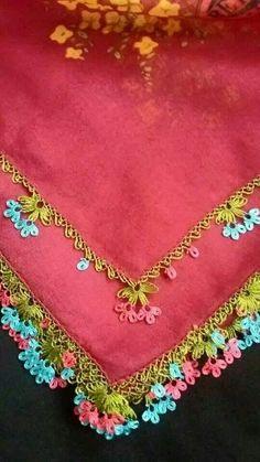 İğne oyası çember oyası Yemeni kenarı Needle Lace, Needle And Thread, Diy And Crafts, Arts And Crafts, Saree Tassels, Lace Art, Baby Knitting Patterns, Fiber Art, Crochet Necklace
