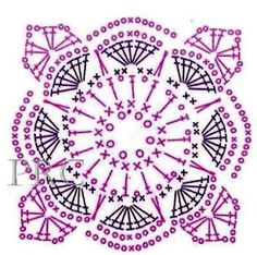 Crochet granny square dress libraries 47 Ideas for 2019 Crochet Baby Mittens, Crochet Cowl Free Pattern, Crochet Doily Diagram, Crochet Motif Patterns, Ravelry Crochet, Granny Square Crochet Pattern, Crochet Chart, Crochet Squares, Crochet Granny