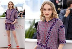 Lilly-Rose Depp, de Chanel - Foto: Getty Images