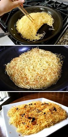 Simple Spicy Pan Fried Noodles | The Woks of Life